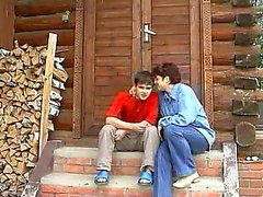 Russischen Muhme and Nephew