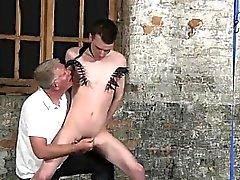 El sexo anal con chicos gays Con Las su bolsa tierno jaló ya su