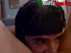 Flaca violadora filmada follando a su novio