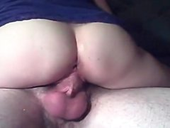 Large penis hardly fits into her tight vagina that is super