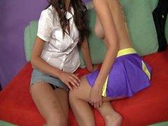 Förföras av ett reellt Lesbian 10 - motiv 2