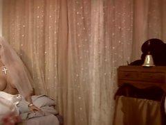 Groom likes to watch as conciege satisfies his new blonde bride
