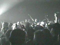 Backstagella sluts teini teini munaa kitaransoittaja annetun keikkabussin !