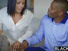 BLACKED Adriana Chechik Takes Trio of BBCs