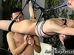 Boys in bondage in jeans gay Jerked And Drained Of Semen
