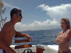 Tessa Taylor fångster en Ride på vår båt