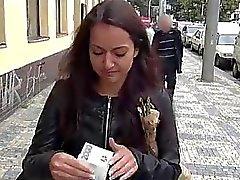 Eurobabe Lili Devil pounded for money