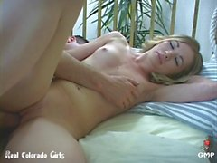 Skinny Teen With Tiny Tits Fucked By A Fat Mature Cock