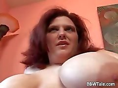 Fat big foxy redhead bitch with huge