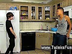 Del sesso ragazzo Kyler Muschio è maschio molto insaziabili , e il di Robbie