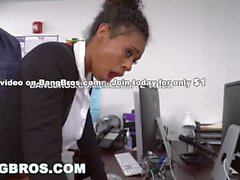 BANGBROS - Big Tits Ebony Babe Ivy Young Gets Ahead In The Office