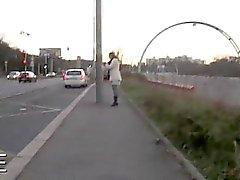 Czech Redhead любительское бед стук на поддельные такси