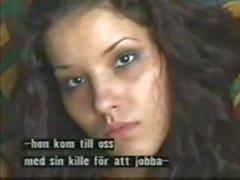 Angel Dark primeiro na cena de sexo da câmera