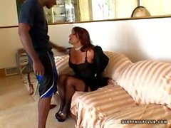 Cougar Jillian foxxx fucked a black monster