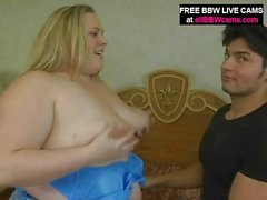 Juicy Bbw Fucks Up Her pussy And Giant Tits Part 1