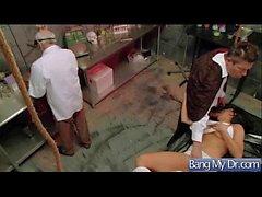 ( Audrey Bitoni ) Lämmin Patient Come To lääkäriin ja saada Nailed Kiintolevyn vid - 03