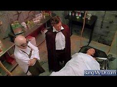 ( audrey Bitoni ) Heta Patientens Kom till läkare och få spikade hårt vid- 03
