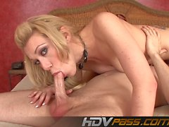 Blonde Babe Samantha Sin Ass Licking 69 Deep Throat