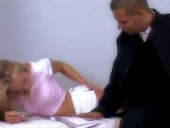 Gorgeous German Blonde Fucked Hard