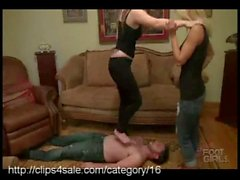 The Greatest Trampling action is at clips4sale
