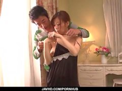 Chihiro Akino likes the dick between her lips and - More at javhd