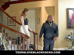 TLBC - Petite White Girl Swallows BBC