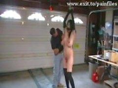 Cenas BDSM cruel do nosso Prisão vagabunda