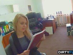 Dirty Flix - Chloe - Fucking job interview