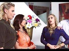 3 Gorgeous Fittor Nicole Aniston , Nikki Benz , Phoenix Marie