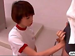Koulutyttö Japanin WorksCock suunsa