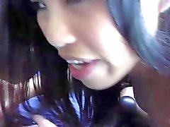 Cindy Starfall is one beautiful asian girl who can't keep