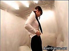 Sexy asian lady gets snatch massaged part4