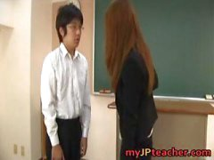 Junna Aoki Hot Asian professor recebe part3