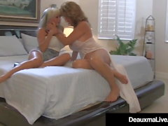 Horny Wife Deauxma Sees Hubby Ass Fuck Sally DAngelo!