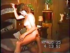 Brunette Wife Rides And Cums Hard On BBC