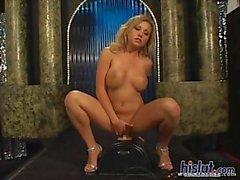 Jasmine got naked