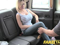 Fake Taxi Petite blonde with big tits gets down and dirty