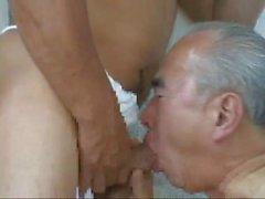 vieil homme japonais