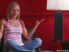 Bree Olson bekommt Pussy gegessene und Banged