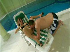 Swimming pool sex