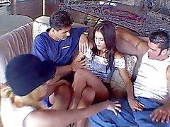 Nasty Jayna Oso double penetration
