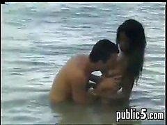 Lovers Doing Anal Outside In Paradise