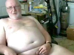 grandpa show auf webcam