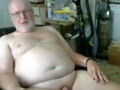 morfar visa på webbkameran