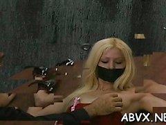 Chicas desnudas jugando en bondage xxx clip