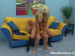 Hot Blonde Brandi Do A Tit Fuck2