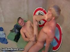 Muscled hunks Denis Reed and Lucky part3