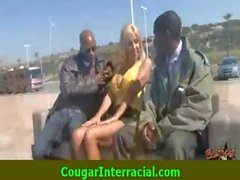 Interracial cougar super sex 15