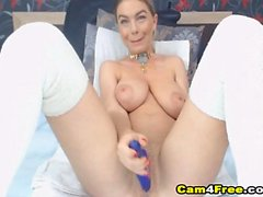 Hot Blonde Shows Pussy on Cam