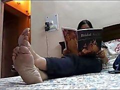 Jalat Iäkkäämpi intialaisia jumalatar 2